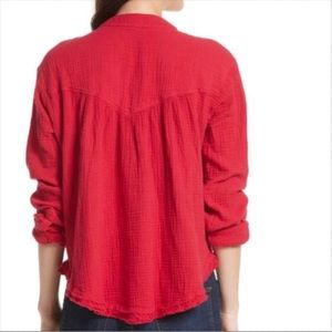 NWT Free People Changing Horizons Pullover top Retail $88